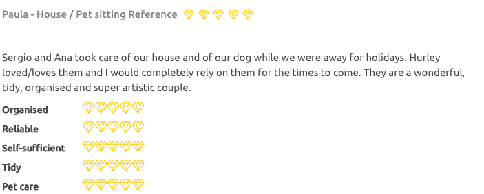 house sitters